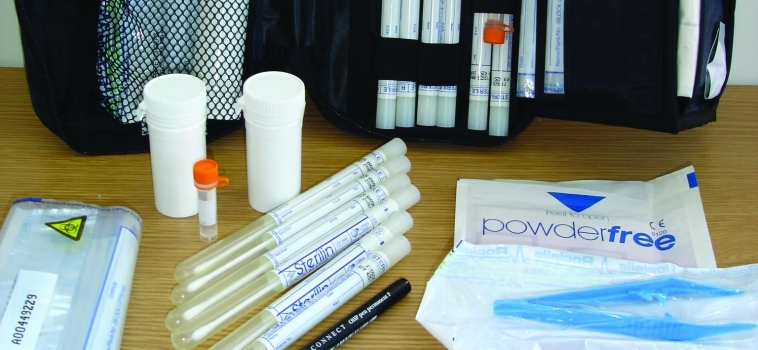 Wildlife forensic sampling kits